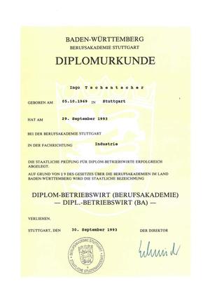 Diplom-Betriebswirt Ingo Tschentscher